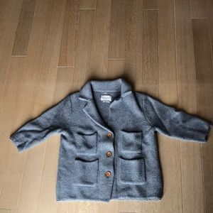 Levi's Made & Crafted Chunky-Knit Wool Cardigan